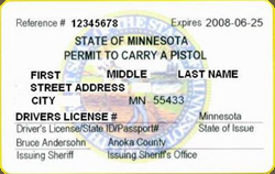 Minnesota Conceal and Carry Permit