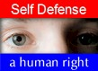 Self-defense is a human right
